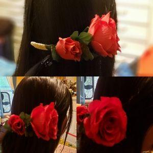 Roses Handmade Haircomb
